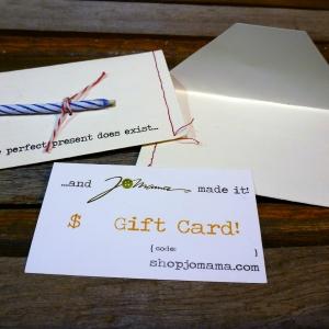 Jomama gift card