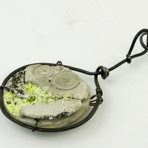 steam punk clock necklace