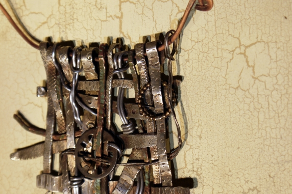 Assemblage necklace