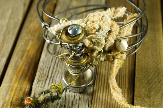Industrial steel wire, steampunk jewelry