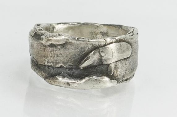 chunky men's ring