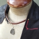boho leather necklace free people style