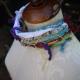Bohemian yarn necklace