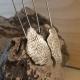 blackened sterling silver earrings