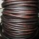 Vintage brown leather 4mm